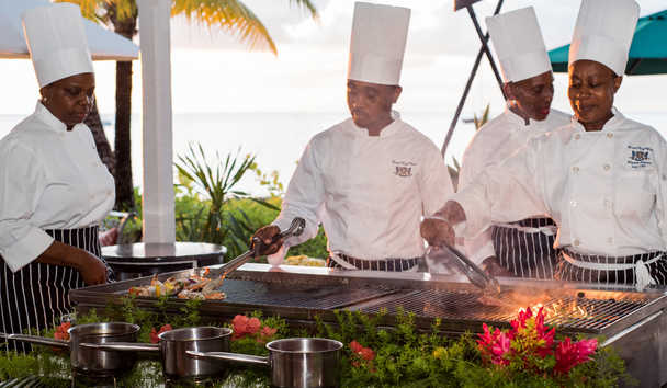 Coral Reef Club: Cooking