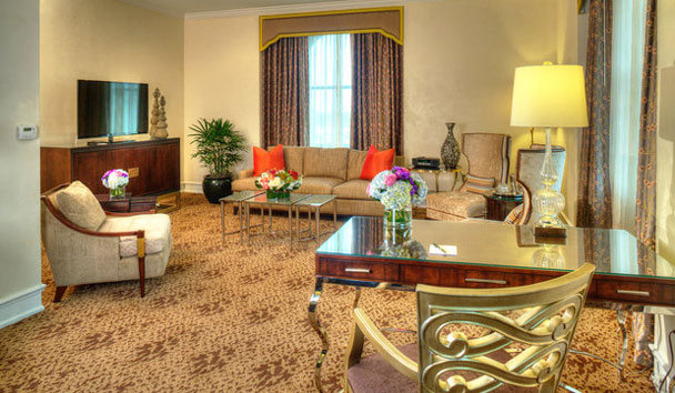 The Peabody: Presendential Suite Living Room