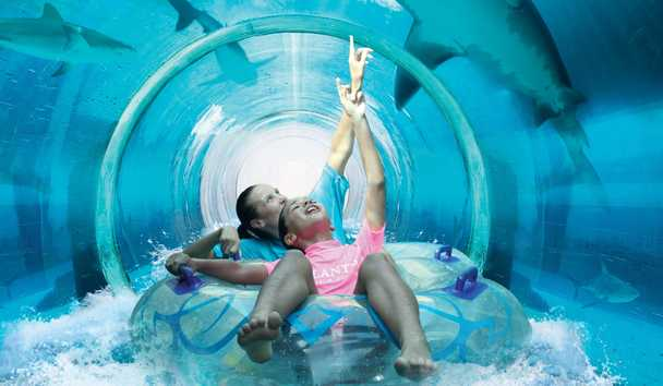 Aquaventure Waterpark Dubai Experience at Atlantis, The Palm