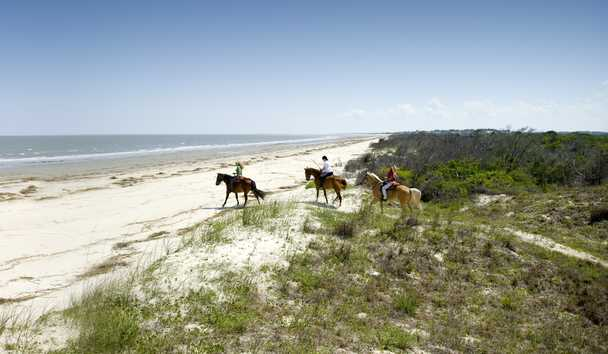 The Cloister at Sea Island: Horse Riding
