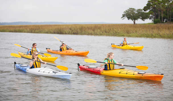 The Cloister at Sea Island: Kayaking