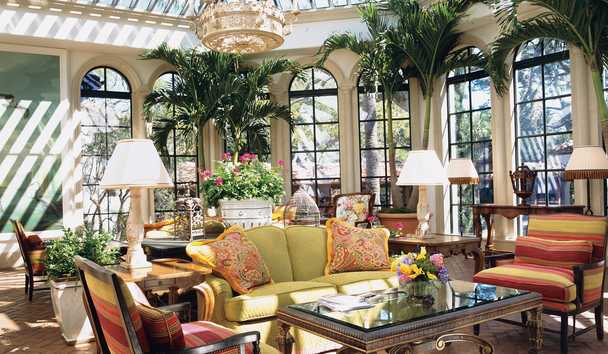 The Cloister at Sea Island: Solarium