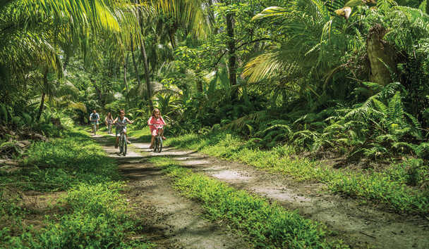 Four Seasons Resort Seychelles at Desroches Island: Family Cycling