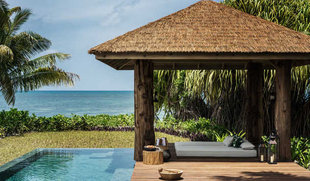 Four Seasons Resort Seychelles at Desroches Island: Pool Cabana