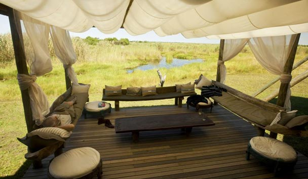 Selinda Camp, Relaxation Area