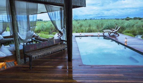 Selinda Camp, Pool View