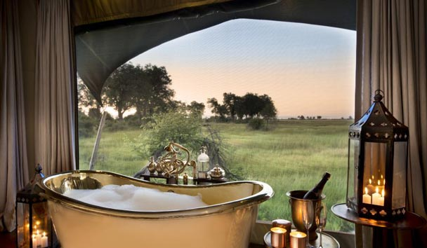 Duba Plains, Indulgent Bath Experience