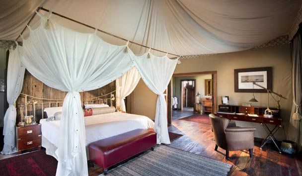 Duba Plains, Guest Tent Interior