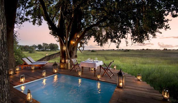 Duba Plains, Private Dining