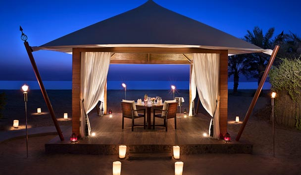The Ritz-Carlton Ras Al Khaimah, Al Hamra Beach: Private Dining