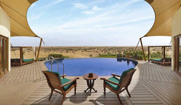 Al Maha, a Luxury Collection Desert Resort & Spa: Presidential Suite Pool