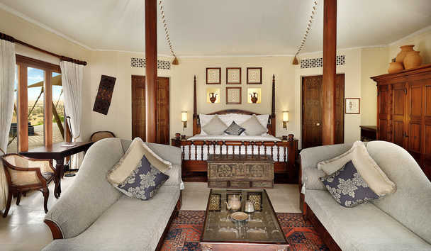 Al Maha, a Luxury Collection Desert Resort & Spa: Presidential Suite