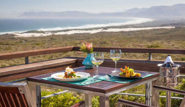 Grootbos: Forest Lodge dining