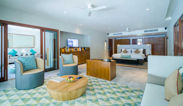 Amilla Fushi: Two Bedroom Beach House Interior