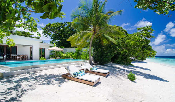 Amilla Fushi: Two Bedroom Beach House