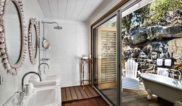 Villa Marie Saint Barth: Master Villa Bathroom