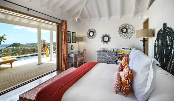 Villa Marie Saint Barth: Maste Villa Bedroom