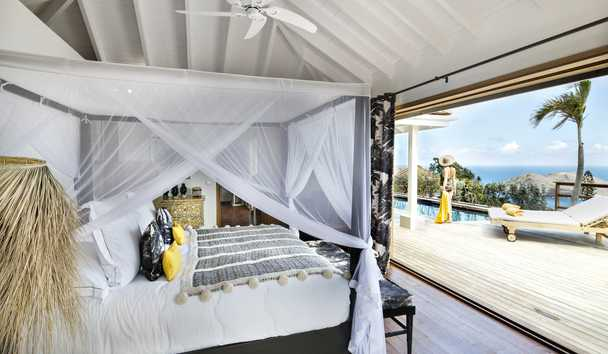 Villa Marie Saint Barth: Master Villa Bedroom