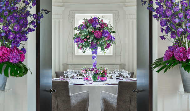 One Aldwych: Special Occasion setup in The Dome Suite