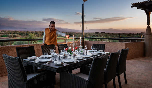 Fairmont Royal Palm Marrakech: Presidential Suite Terrace