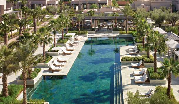 Four Seasons Resort Marrakech: Outdoor Pool