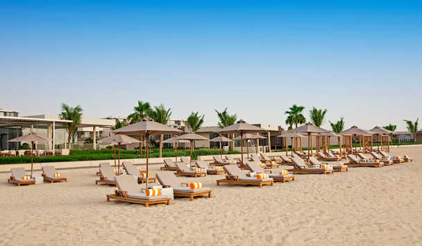 The Oberoi Beach Resort Al Zorah: Private beach