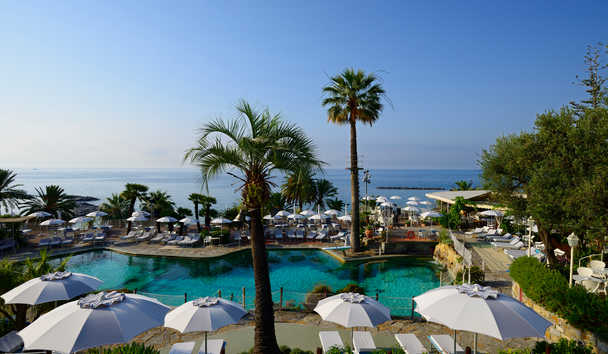 Royal Hotel Sanremo: Swimming Pool