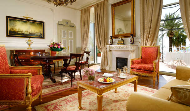Royal Hotel Sanremo: Sissi Suite