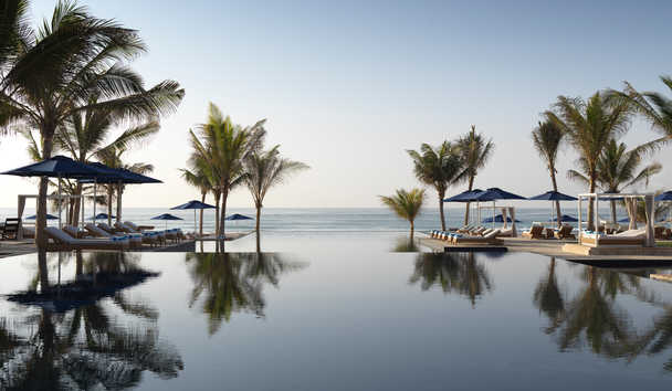 Al Baleed Resort Salalah by Anantara: Infinity Pool
