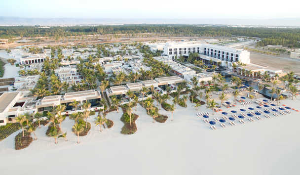 Al Baleed Resort Salalah by Anantara: Aerial view