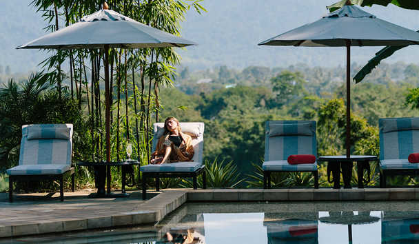 Anantara Golden Triangle Elephant Camp & Resort: Main Pool