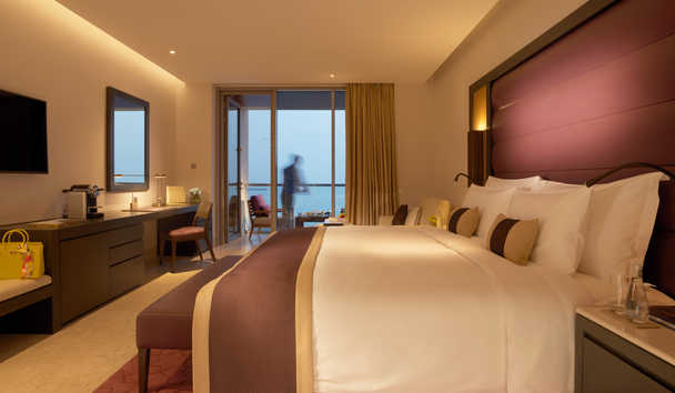 Kempinski Hotel Muscat: Deluxe Sea View Room