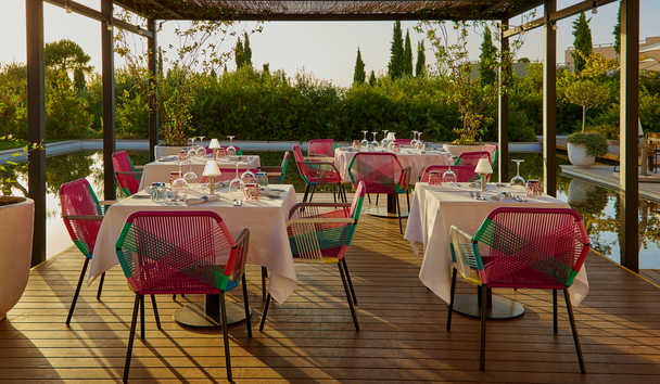 The Romanos, A Luxury Collection Resort, Costa Navarino: Perovino Restaurant
