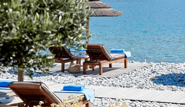Blue Palace, A Luxury Collection Resort & Spa, Crete: Beach