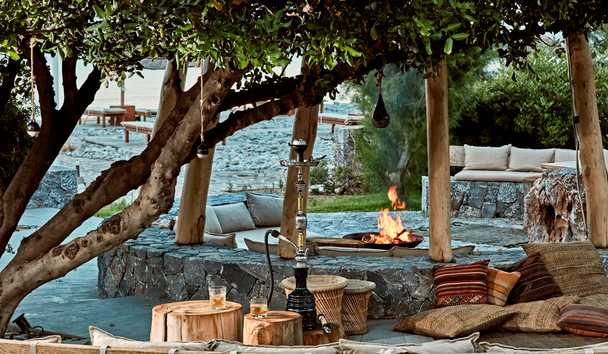 Blue Palace, A Luxury Collection Resort & Spa, Crete: Isola Beach Club