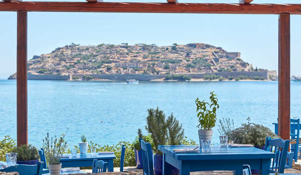 Blue Palace, A Luxury Collection Resort & Spa, Crete: Blue Door