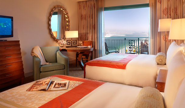 Atlantis, The Palm: Deluxe Room
