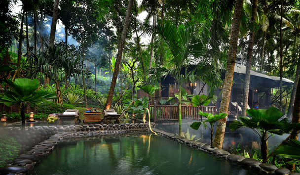 Capella Ubud: Private Salt Water Pool and Deck