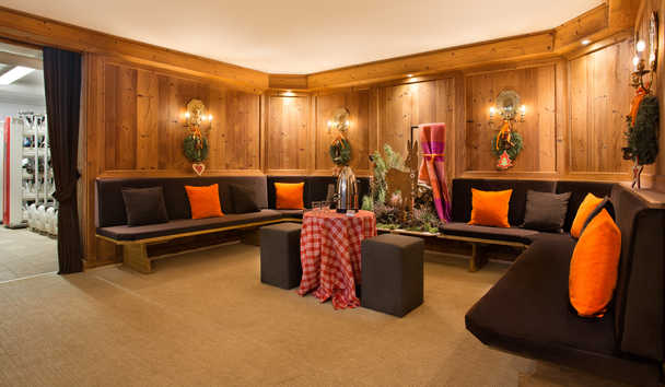 Cristallo, A Luxury Collection Resort & Spa: Ski Room