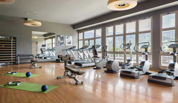 Cristallo, A Luxury Collection Resort & Spa: Gym