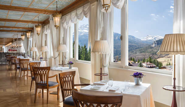 Cristallo, A Luxury Collection Resort & Spa: The Veranda