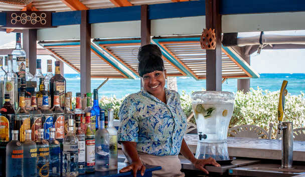Nisbet Plantation Beach Club: Bar