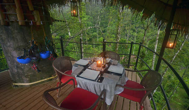 Pacuare Lodge: Outdoor dining