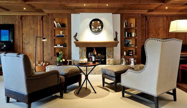 The Alpina Gstaad: Grand Luxe Suite