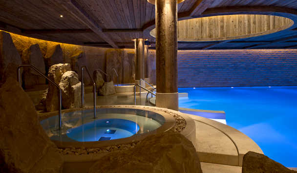 The Alpina Gstaad: Spa