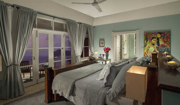 The Liming, Bequia: Bedroom