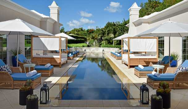 Rosewood Bermuda: Spa Reflection Pool