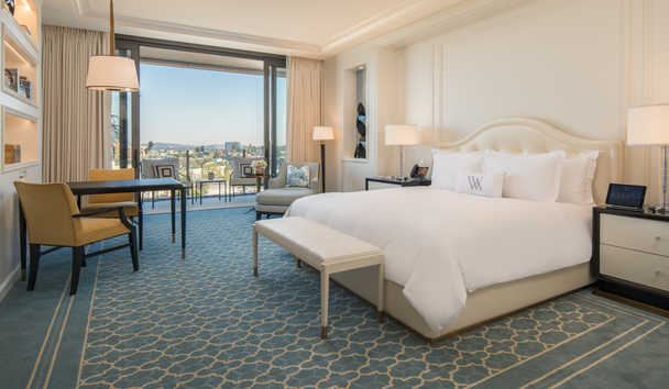 Waldorf Astoria Beverly Hills: Deluxe King Room