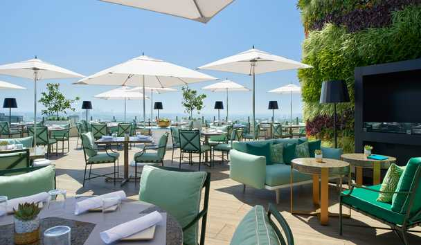 Waldorf Astoria Beverly Hills: Rooftop