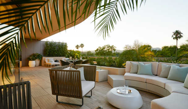 Waldorf Astoria Beverly Hills: Villa Suite balcony